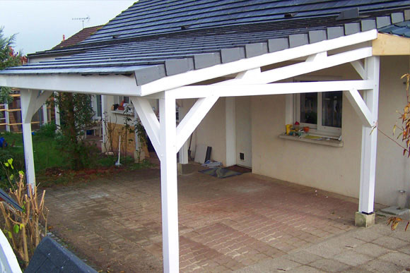 garage pergola naturellement bois constructeur de maison bois et extentions dans le sud ouest. Black Bedroom Furniture Sets. Home Design Ideas