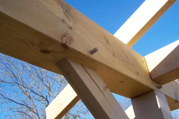 Garage Pergola  Naturellement bois, constructeur de maison bois et extention