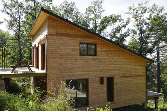 Maison à ossature bois  Naturellement bois, constructeur de maison bois et e